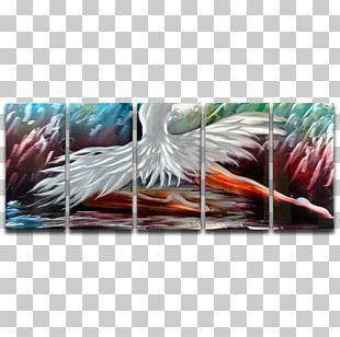 Feather Bird Modern Art Graphic Arts PNG
