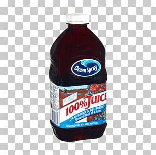 Cranberry Juice Concord Grape Ocean Spray PNG