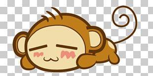 Monkey Giant Panda Kawaii Cuteness Ape PNG