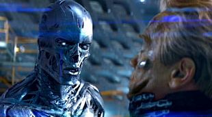 John Connor Sarah Connor Kyle Reese Terminator Skynet PNG