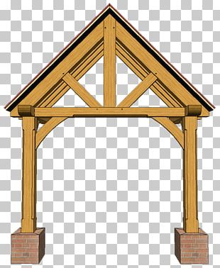 Porch Timber Roof Truss Shed Timber Roof Truss PNG