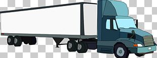 Commercial Vehicle Car Semi-trailer Truck Truck Driver PNG