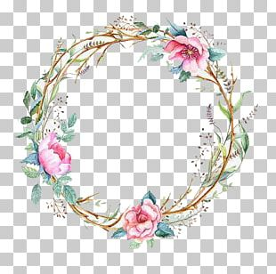 Flowers And Garlands PNG