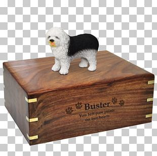 Bestattungsurne Cremation Boston Terrier Old English Sheepdog PNG