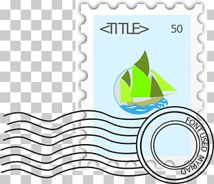 Postage Stamps Mail Rubber Stamp PNG