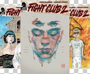 Chuck Palahniuk Fight Club 2 #1 Tyler Durden PNG