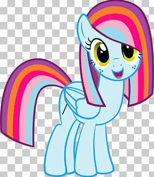 Horse Pink M Character PNG