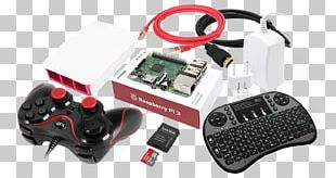 PlayStation 3 Joystick Game Controllers Raspberry Pi 3 PNG