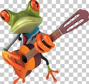 Tree Frog Locked Out Of Heaven String Instrument Guitar PNG