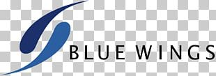 Logo Blue Wing Airlines Brand PNG