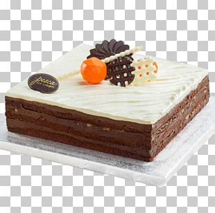 Chocolate Cake Ice Cream Cake Torte PNG