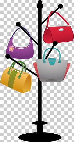 Clothes Hanger Handbag PNG