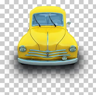 Classic Car Automotive Exterior Compact Car Illustration PNG