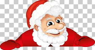 Santa Claus Christmas New Year Villancico PNG