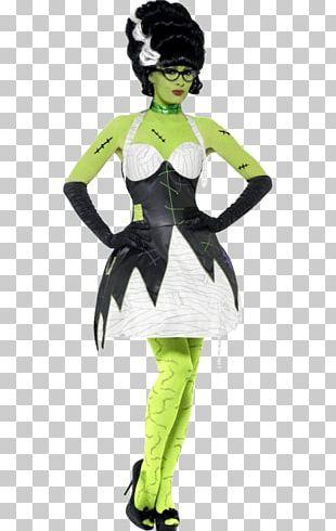 The Bride Of Frankenstein Monster Costume PNG