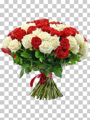Flower Bouquet Rose Cut Flowers Red PNG