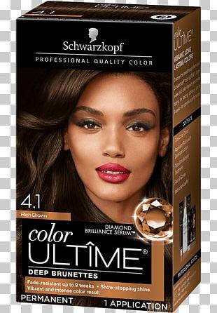 Schwarzkopf Hair Coloring Human Hair Color Brown Hair PNG