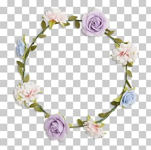 Floral Design Wreath Lilac Color Flower PNG