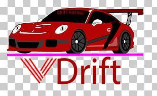 VDrift Car Racing Video Game PNG
