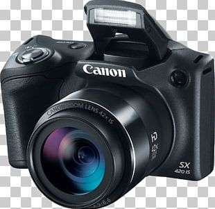 Canon Digital IXUS Point-and-shoot Camera Zoom Lens PNG
