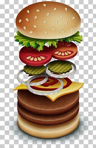 Cheeseburger Whopper Veggie Burger Fast Food Junk Food PNG