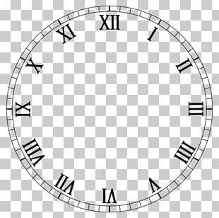 Clock Face Roman Numerals Digital Clock Alarm Clocks PNG