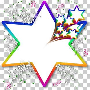 Star Color Paper White Health & Beauty PNG