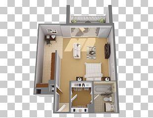 Studio Apartment House Floor Plan Room PNG