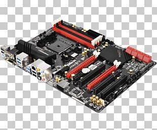 ASRock Fatal1ty FM2A88X+ Killer Motherboard Graphics Cards & Video Adapters Socket FM2 PNG