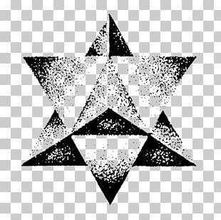 Sacred Geometry Pointillism Drawing Art Tattoo PNG