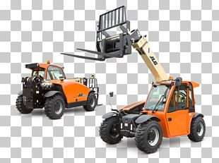 Heavy Machinery Telescopic Handler Forklift Architectural Engineering Aerial Work Platform PNG