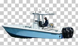 On The Water Boating Fishing Vessel Nomad Fishing Charters PNG
