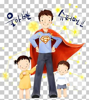 Father's Day Child Poster PNG