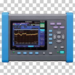 Electric Power Quality Energy Hioki E.E. Corporation Power Analyzer PNG