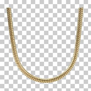 Necklace Gold Chain Jewellery Earring PNG