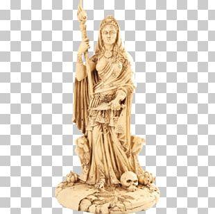 Hecate Greek Mythology Goddess Statue Deity PNG