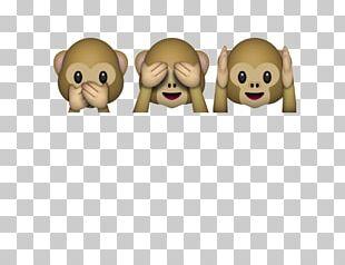 Three Wise Monkeys Emojipedia The Evil Monkey PNG