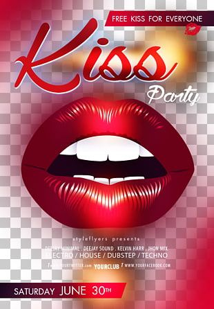 Poster Kiss Lip PNG