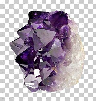 Metal-coated Crystal Mineral Quartz PNG
