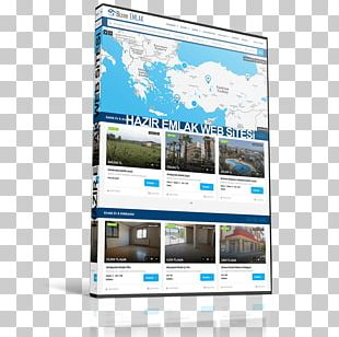 Web Design Home Page PNG