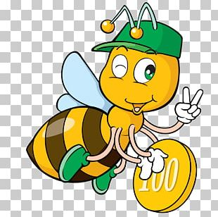 Bee Insect Drawing Cartoon PNG
