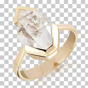 Ixtlan Melbourne Jewellery Store Crystal Herkimer Diamond Ring PNG