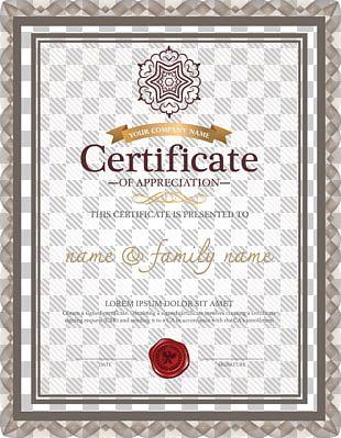 Template Academic Certificate Résumé Microsoft Word PNG