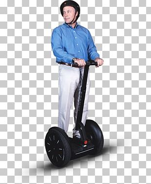 Segway PT Car Scooter Personal Urban Mobility And Accessibility PNG