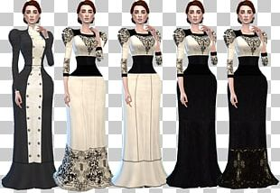The Sims 4 Gown Victorian Fashion Dress Clothing PNG