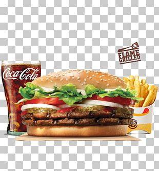 Whopper Hamburger Take-out Burger King Fast Food PNG
