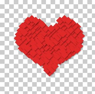Paper Red Heart Computer File PNG