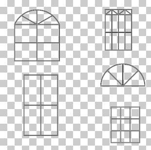 Window Square Shape Pattern PNG