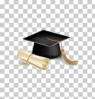 Student Graduation Ceremony Square Academic Cap Diploma Graduate University PNG