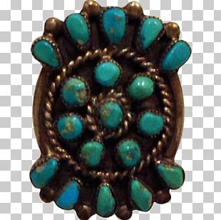 Turquoise Body Jewellery Silver Ring PNG